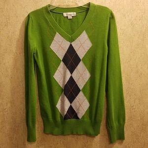 Green Merona V-Neck Sweater